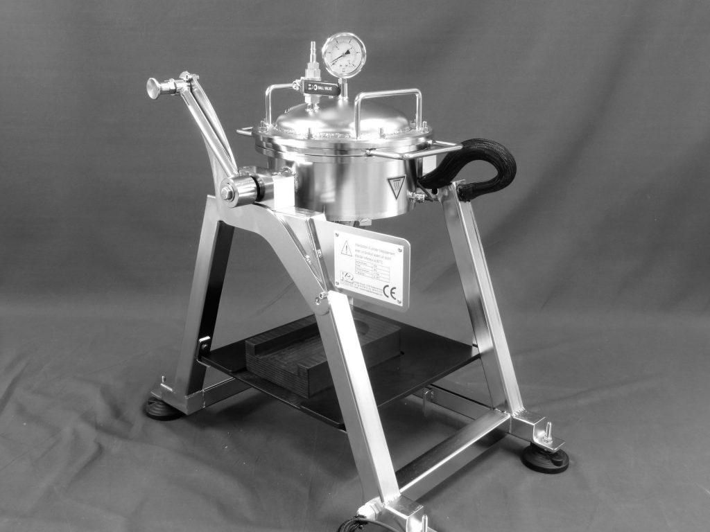 Machine de filtration spéciale K2TEC