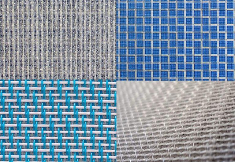 Toiles de filtration pour bandes filtrantes