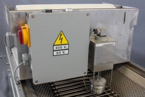 Armoire de contrôle filtre gravitaire inox