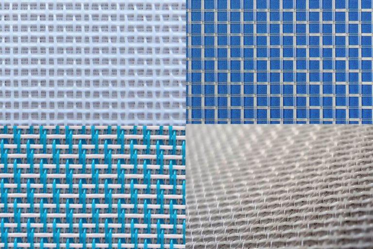 Assemblage toiles de filtration