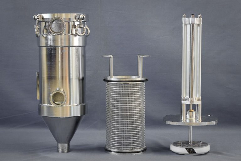 Automatic self-cleaning filter chemical industry