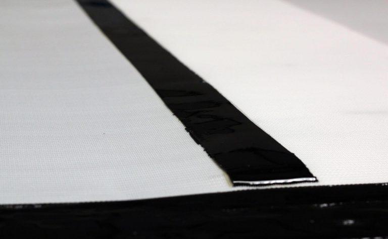 Coated filter belts