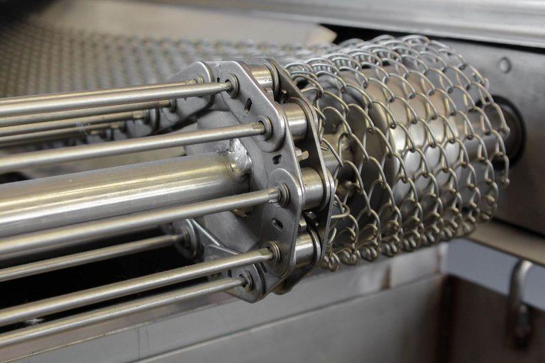 Détail tapis filtre inox gravitaire