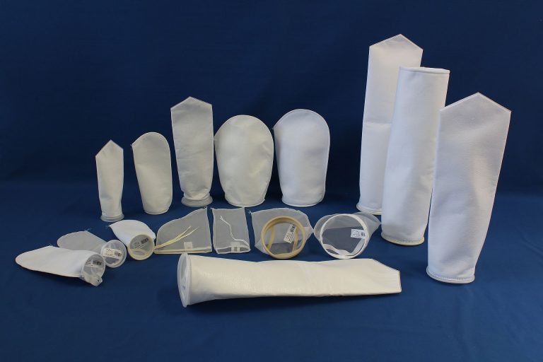Filter bags chemical industry