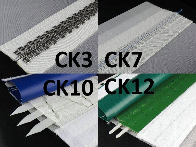 Filter belt closure system