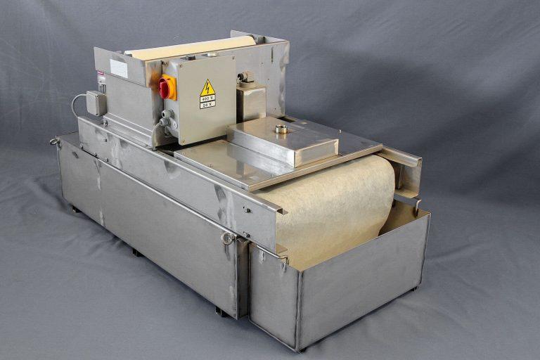 Filtre à déroulement en inox pour liquide de coupe