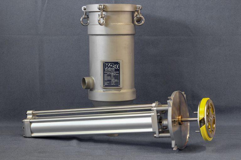Filtre autonettoyant à racleur pour filtration à haute viscosité