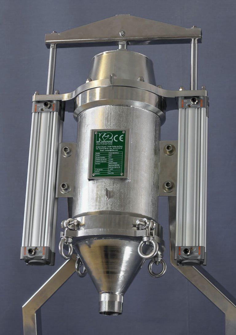 Filtre racleur automatique PLM