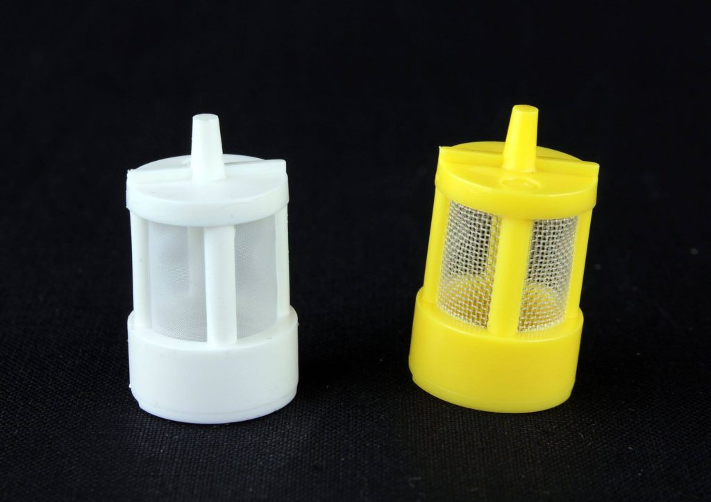 Molded filters