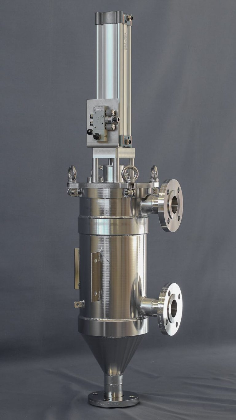 Automatic Self-cleaning stainless-steel filter flanges