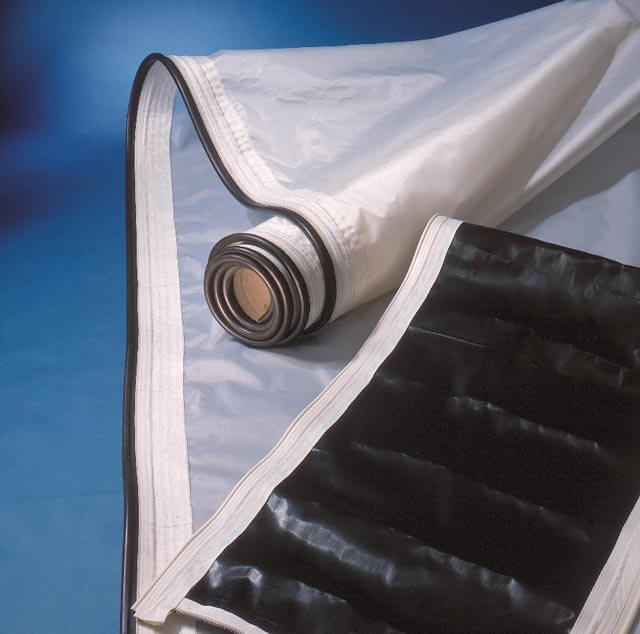 Filter belt vacuum filter