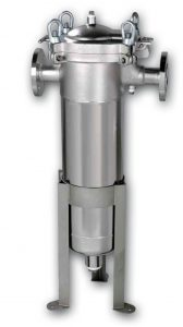 KBF HD Stainless steel bag filter housing