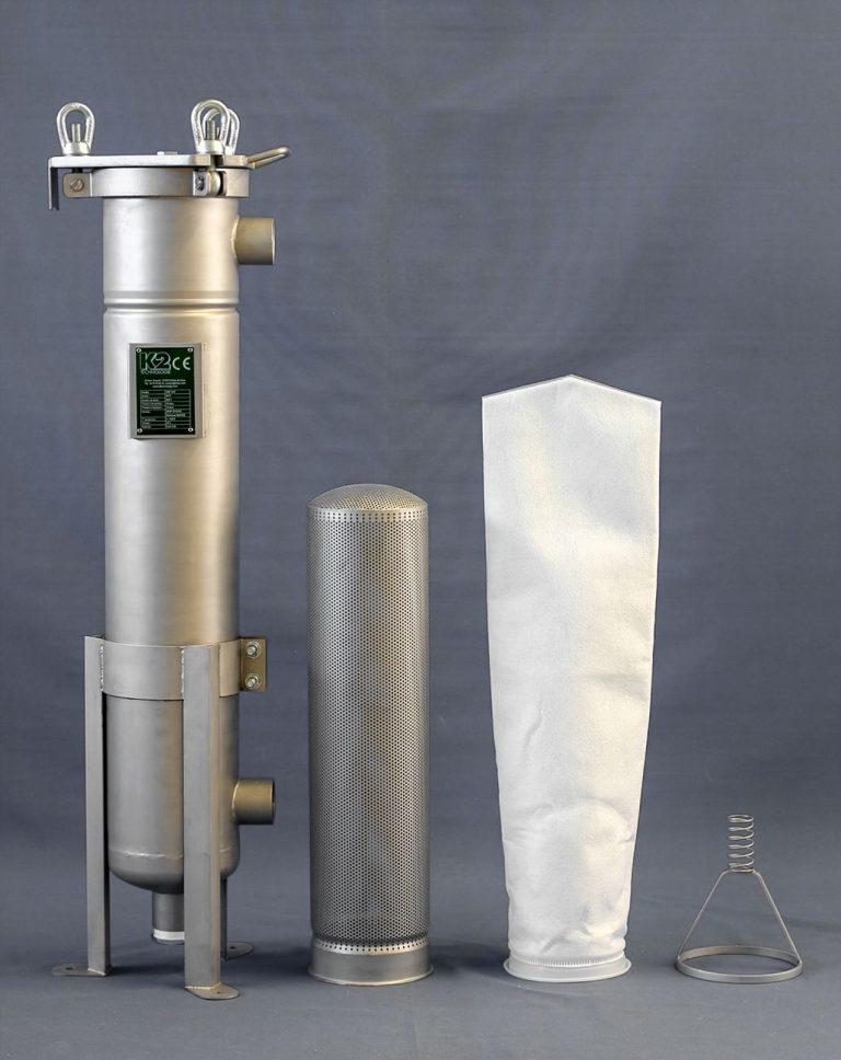 Medium viscosity bag filter