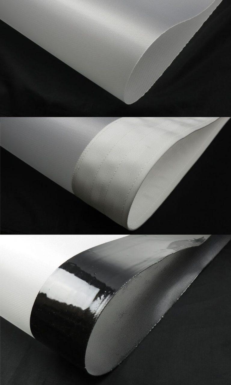 Filter belt edges