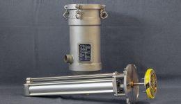 Filtre autonettoyant à racleur pour filtration à haute viscosité wide